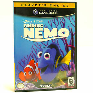 Finding Nemo Nintendo Gamecube Video Game Complete with Manual
