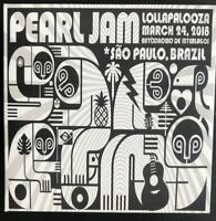 "PEARL JAM : ""Lollapalooza - March 24 2018"" (RARE 2 CD)"