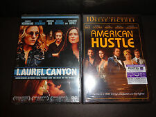 LAUREL CANYON & AMERICAN HUSTLE w/digital to 12-31-17---2 movies-Christian Bale