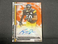 Ryan Shazier 2014 Topps Strata Autograph Rookie (67/99) #164 Pittsburgh Steelers