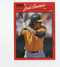 1990 Donruss #125 Jose Canseco Oakland Athletics Baseball Card