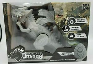 Train Your Own Dragon with Remote Control Dragon Gray