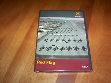 RED FLAG Nellis AFB USAF Air Force Fighter Jet Pilot F15 History Channel DVD NEW