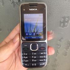 Original Nokia C Series C2-01 - Black (Unlocked) Cellular Phone