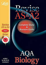 Letts A-level Revision Success - AQA AS and A2 Biology: Study Guide by John...