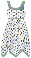 Girls Polkadot Summer Dress New Kids Cotton Sleeveless Dresses Age 2 3 4 5 Years