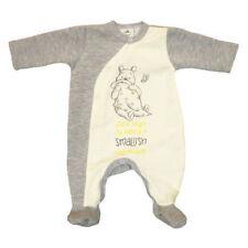 Body e pagliaccetti primavere grigi per bambina da 0 a 24 mesi
