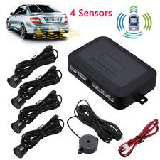 LED Car auto Backup Reverse Radar Alert System 4 White Parking Sensor wireless