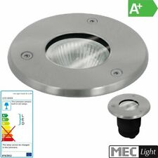 runder LED Bodeneinbauleuchte Einbaustrahler für GU10 Strahler/Spots - 66mm IP67