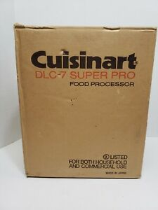 Brand New Sealed In Box CUISINART Food Processor DLC-7 Super Pro Never Opened