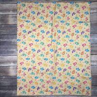 "Care Bears Baby Blanket Nap Play Mat Wall Hang Handmade 40"" X 32"""