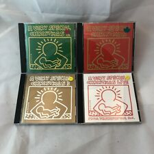 A VERY SPECIAL CHRISTMAS 4CD LOT 1/2/3 & LIVE 61 TRACKS VARIOUS ARTISTS