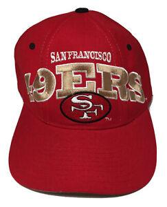 San Francisco 49ers Starter Vintage Pro Line 100% Wool Snapback Hat Cap
