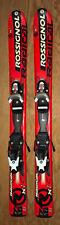93 cm Rossignol Radical Xi junior skis bindings + Nordica ski boots, kids 11