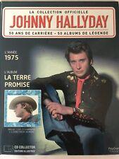 Johnny Hallyday La collection officielle Livre CD La terre promise