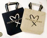 Victoria's Secret Balmain Fashion Show tote bag overnight $85 glamour gold black