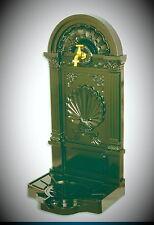 Stand Fountain Aluminium Shell Shell + Brass Tap Green with Drain Neu