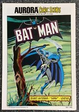 Aurora Comic Scenes: Batman 187-140 (1974) Dick Giordano Art