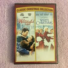 It's a Wonderful Life and White Christmas (DVD, 2006, 2-Disc Set) Brand New