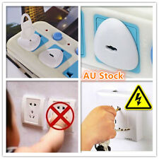 12 X Power Board Socket Outlet Point Plug Protective Covers Baby Child Safety