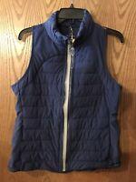 NEW Tangerine Women's Sleeveless Reflective Taping Active Vest Size Medium