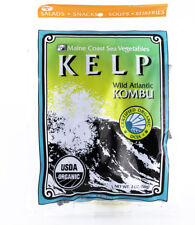 Maine Coast Sea Vegetables - Kelp / Wild Atlantic Kombu - Organic Seaweed