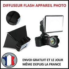 DIFFUSEUR FLASH APPAREIL PHOTO REFLEX BOITE LUMIERE HOMOGENE REFLET PORTRAIT