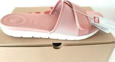 Women's Fitflop Neoflex Slide Sandals - Size 6 (EUR 39) Dusky Pink - New