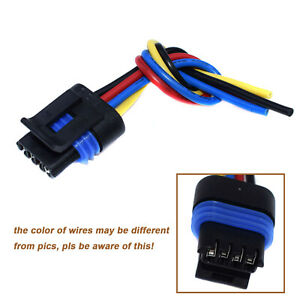New Idle Air Control Valve IAC Motor Harness Connector For 94-02 LT1 LT4 LS1 GM