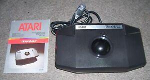 Atari 520 1040 ST STE VCS 2600 600 800 XL Computer Games Console CX-80 Trak Ball
