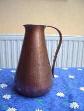Conserver la forme des art deco cuivre-Théière marteau frappe décor Harald Buchrucker
