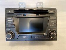 2011 - 2013 Kia Optima Oem Uvo Am Fm Mp3 Sat Hd Radio Jukebox Dark Grey