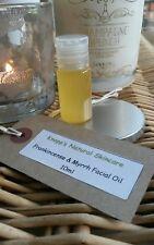 Frankincense & Myrrh Facial Oil. Handmade to Order - All Natural 10ml