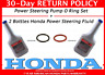 NEW GENUINE HONDA POWER STEERING PUMP O RING SET WITH 2 BOTTLES HONDA FLUID
