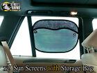 Daihatsu YRV Universal Sun Screen 2pce 54 x 37cm