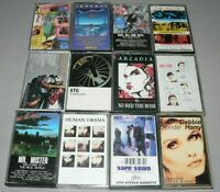 80S ROCK CASSETTE TAPE LOT 12 POLICE CARS XTC JOURNEY BLONDIE CHEAP TRICK MR.MR