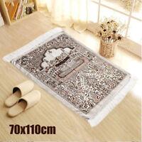 Huge Cenille Turkish Islamic Prayer Mat Rug Carpet Namaz Salat Musallah Tapestry