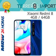 "Xiaomi Redmi 8 Azul 4GB 64GB Rom Versión Global Europea 6.22"" LCD Snapdragon 439"