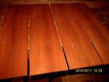 PACKAGES OF THIN PREMIUM KILN DRIED, SANDED EXOTIC AFRICAN MAHOGANY LUMBER
