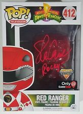 Steve Cardenas Signed Auto Funko Pop EXCLUSIVE Morphing Red Ranger #412 Figure