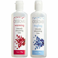 Oralove Dynamic Duo Tingling & Warming Oral Sex Lickable Lubes