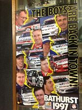 THE HOLDEN BOYS ARE BACK POSTER 43 x 69cms BATHURST 1997