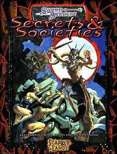 Secrets & Societies Nm! Sword & Sorcery Scarred Lands Dungeons & Dragons D&D