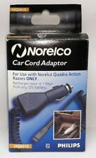 NOS Norelco HQ6010 Quadra Action Razor/Shaver Car Cord Adapter Charger