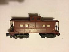 American Flyer By Gilbert 930 Brown Lighted Caboose All Steps Present