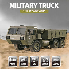 Fayee 1/12 RC Car 6WD 2.4GHz Military Truck Army Truck Off-road Car RTR Car Gift