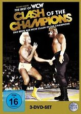 WCW The Best of Clash of the Champions Orig 3 DVDs WWF Wrestling