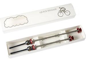 Road Bike MTB Quick Release QR Skewer Titanium Axle Skewers for 700C Road Wheels