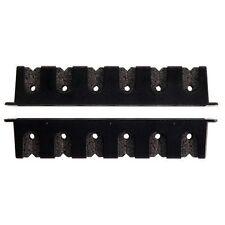 Berkley Horizontal Rod Rack With 6 Rods - Black