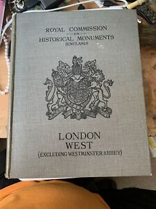 Royal Commission On Historical Documents (England) London West